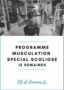 programme musculation scoliose